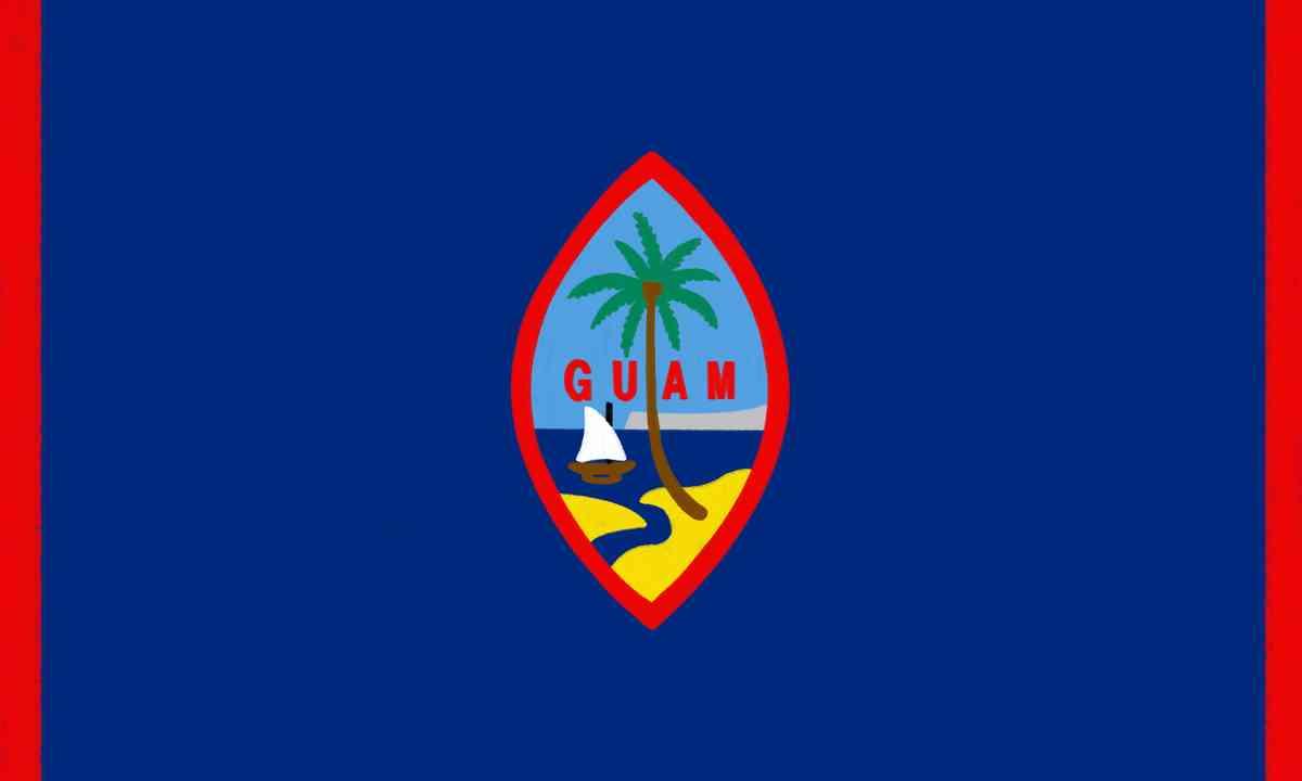 Guam flag (Shutterstock.com)