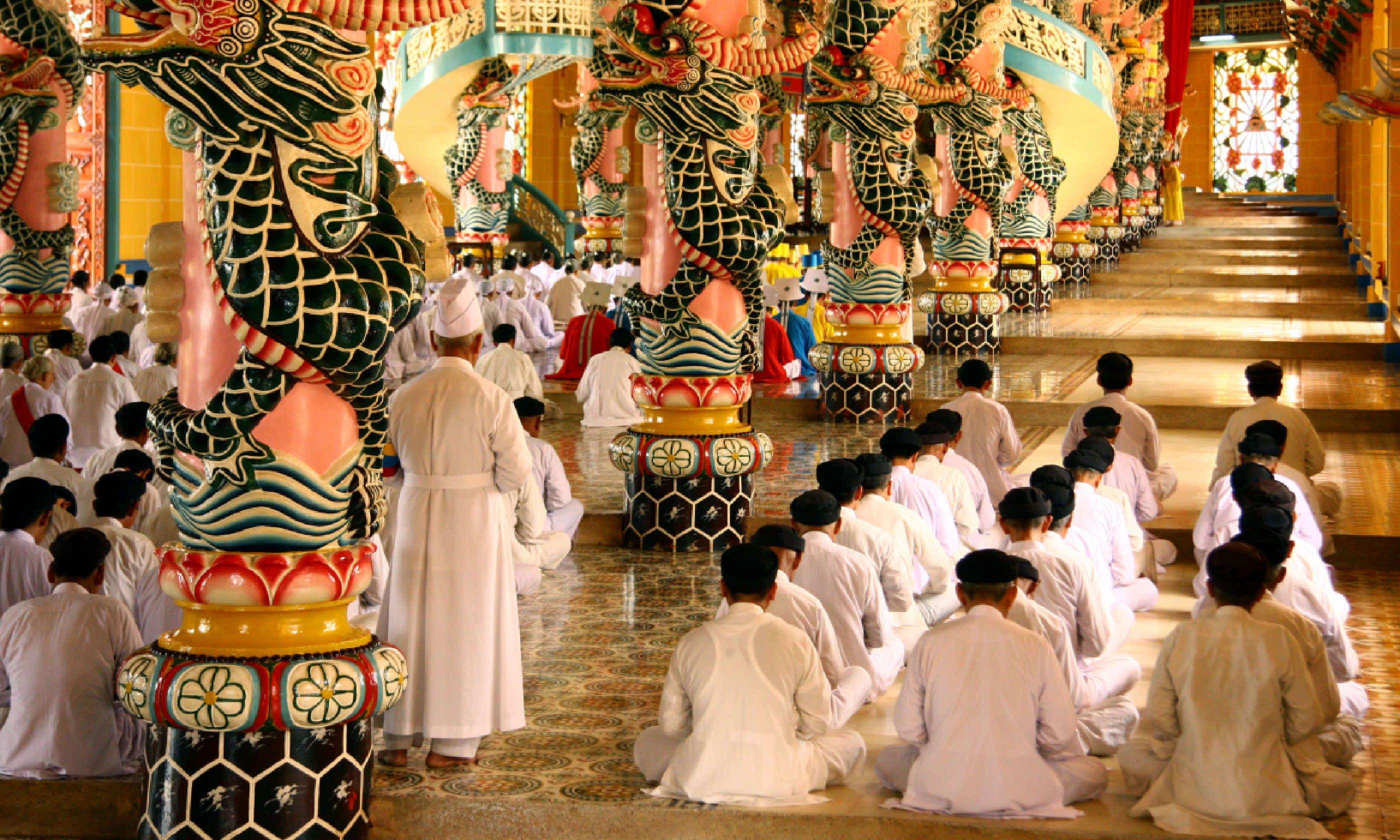 Cao Dai temple (Shutterstock)