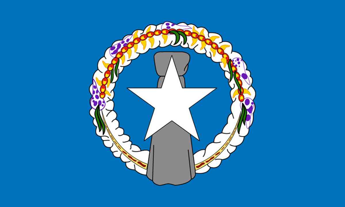 National flag of North Marianas Islands (Shutterstock.com)