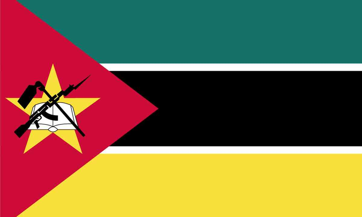 National flag of Mozambique (Shutterstock.com)