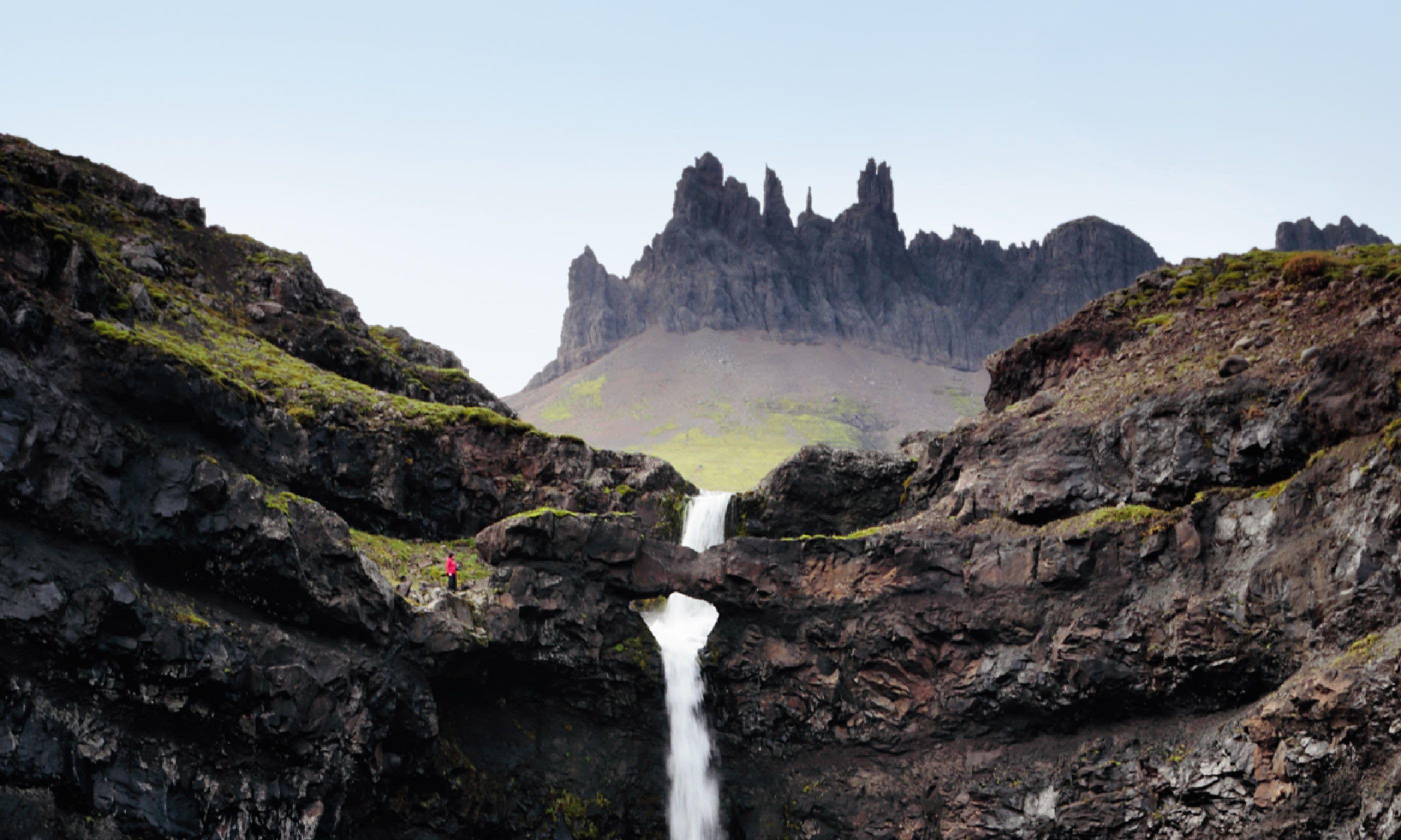Waterfalls near Breiðdalsvík
