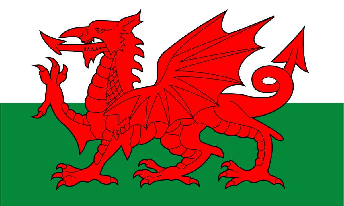 National flag of Wales (Shutterstock.com)