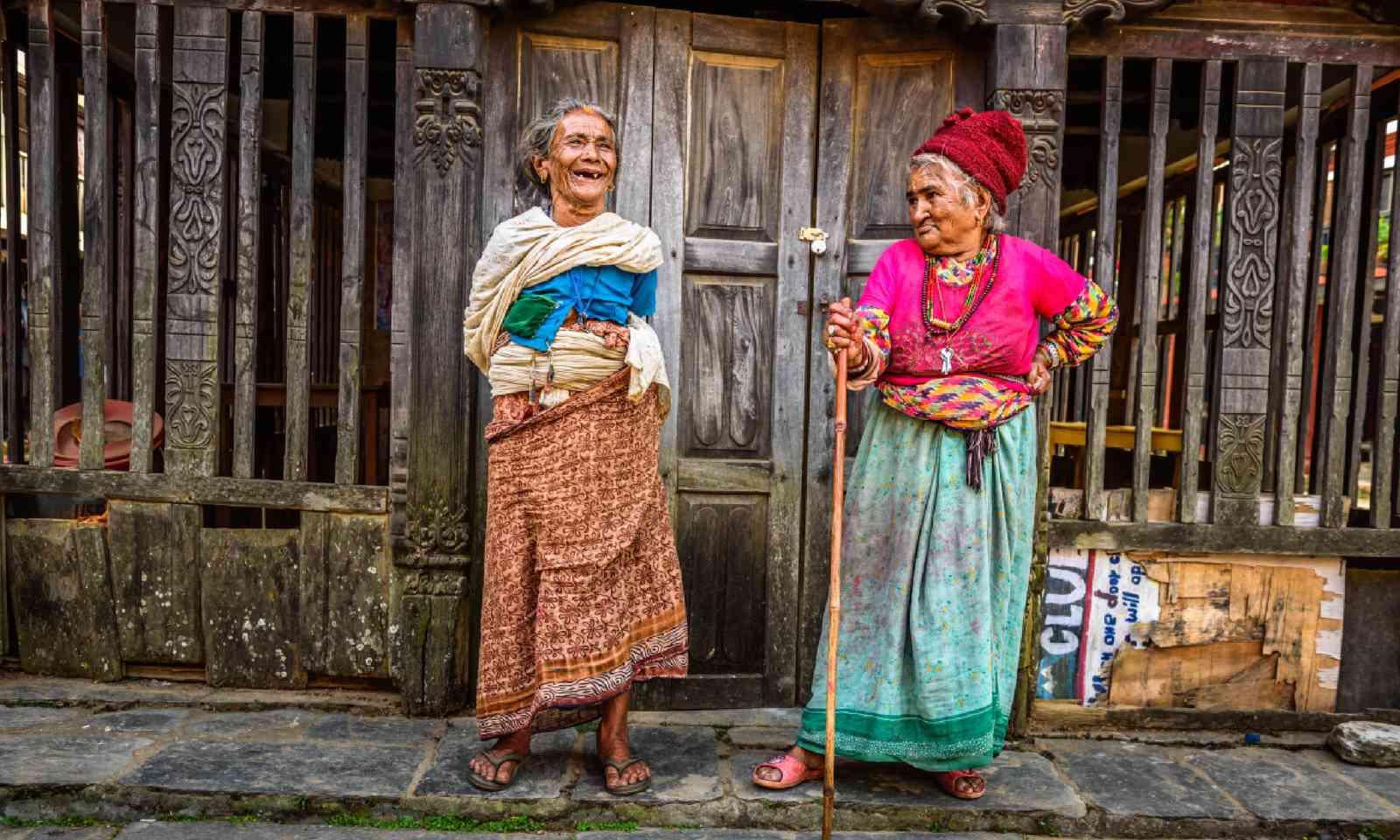Women in Bandipur, Nepal (Shutterstock)