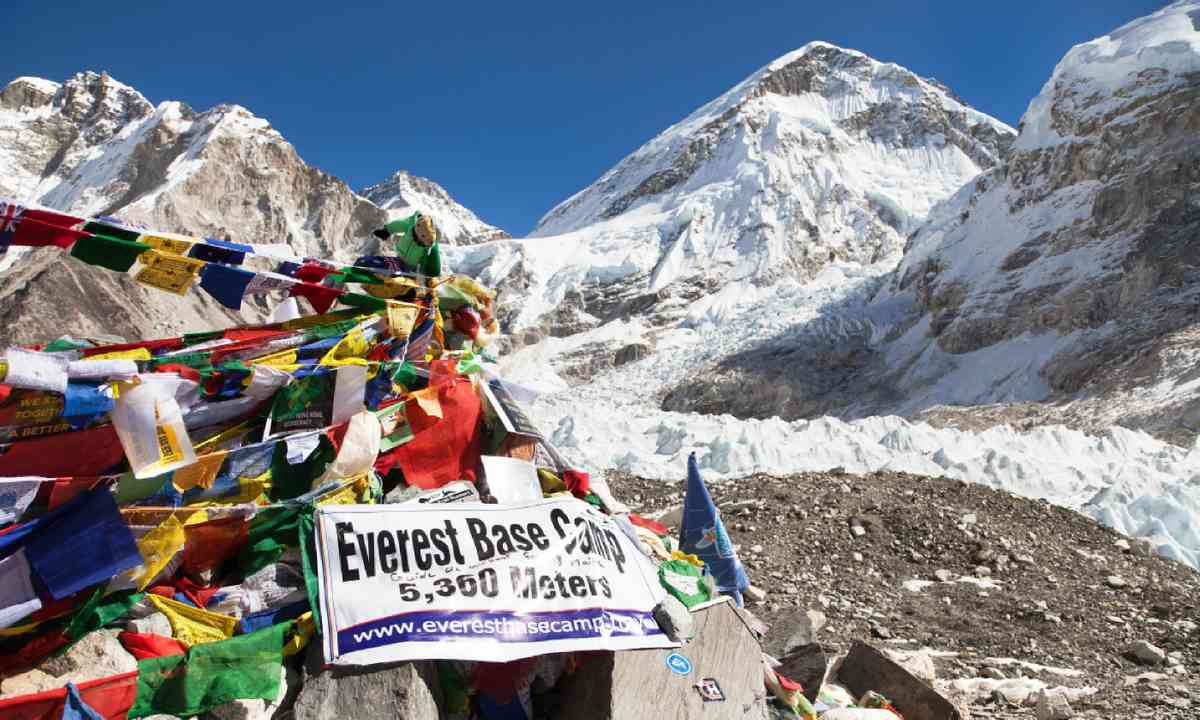 Everest Base Camp, Nepal (Shutterstock)