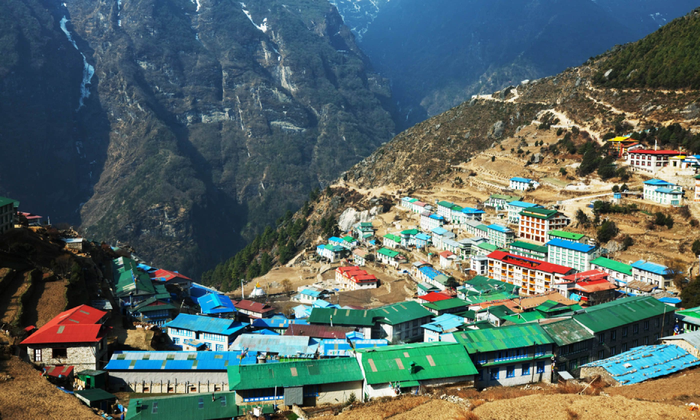 Namche Bazaar (Shutterstock)