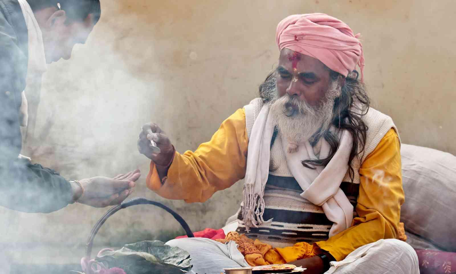 Making puja in Bardia, Nepal (Shutterstock)