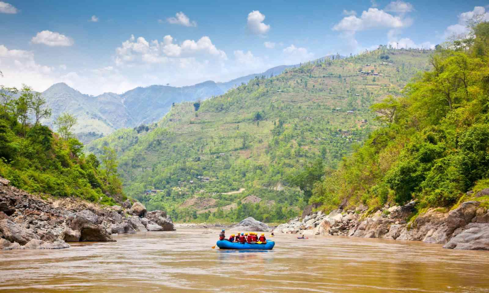 Rafting on the Bhote Kosi (Shutterstock)