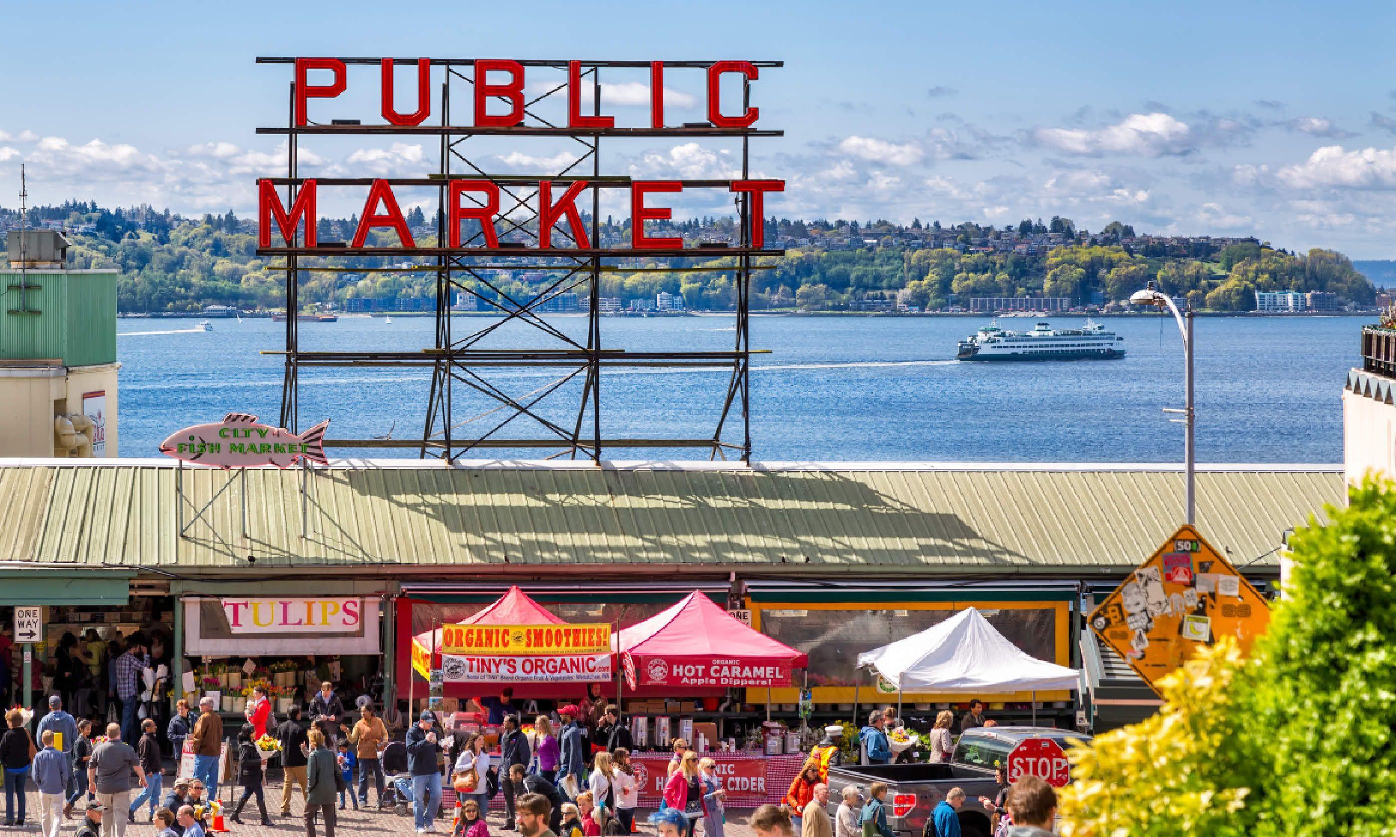 Pike Place Market (Shutterstock)