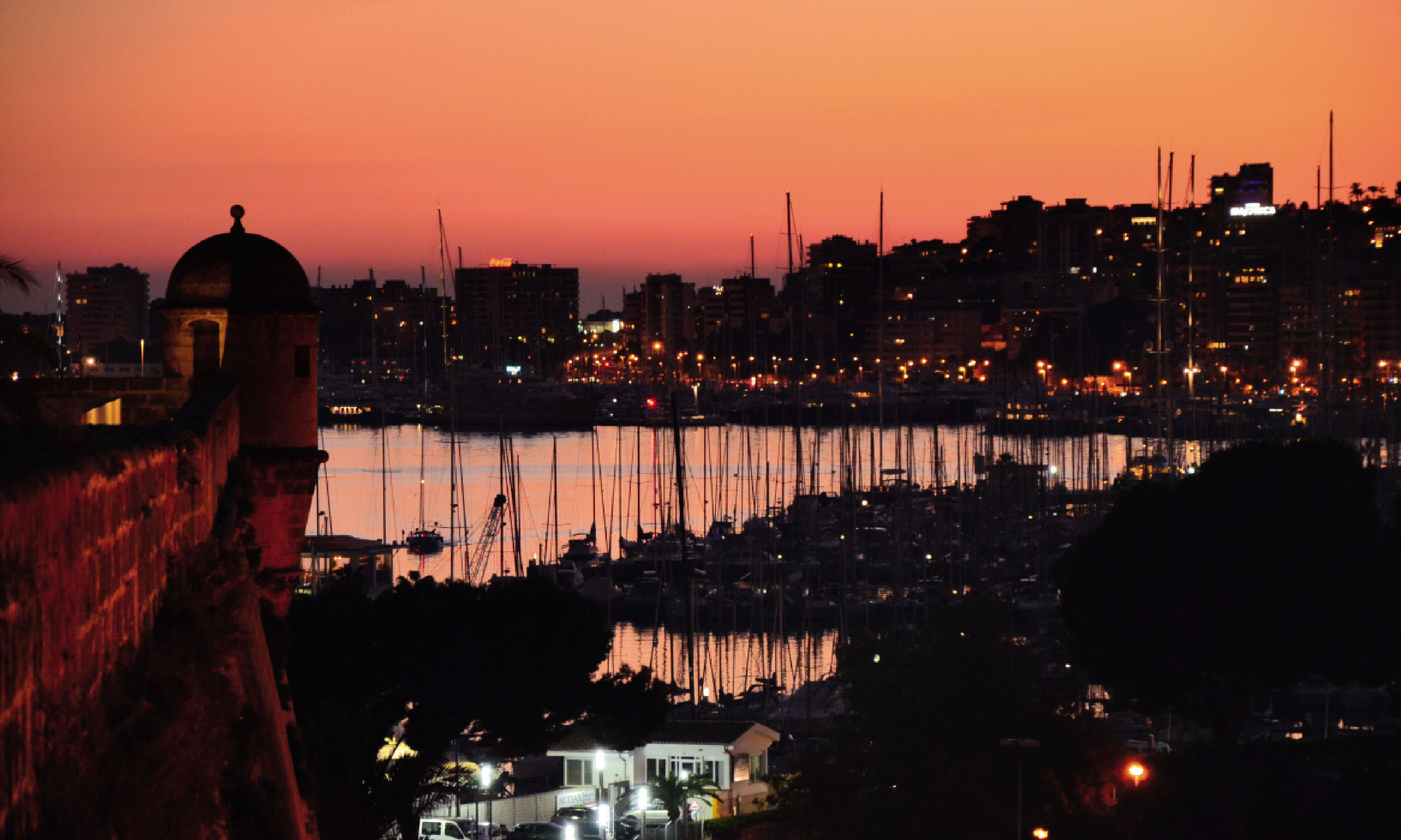 Sunset from Museu d'Art Modern (Neil S Price)