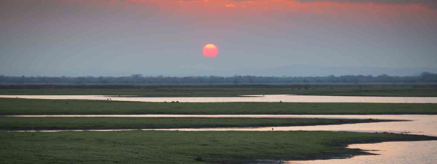 Sunset over Gorongosa National Park (Dreamstime)