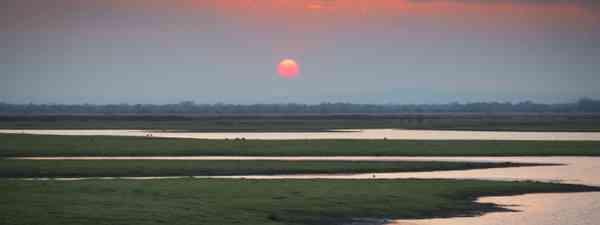 Sunset over Gorongosa National Park (Dreamstime)