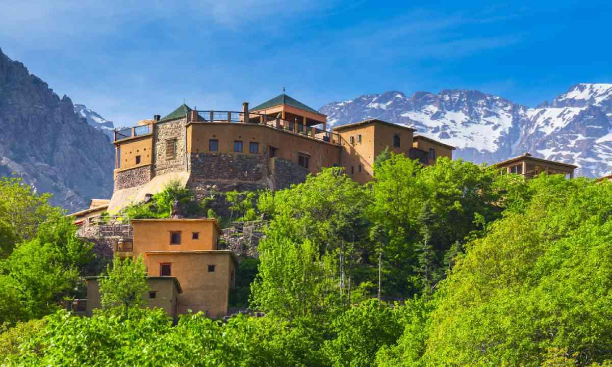 Kasbah du Toubkal, Imlil (Shutterstock)