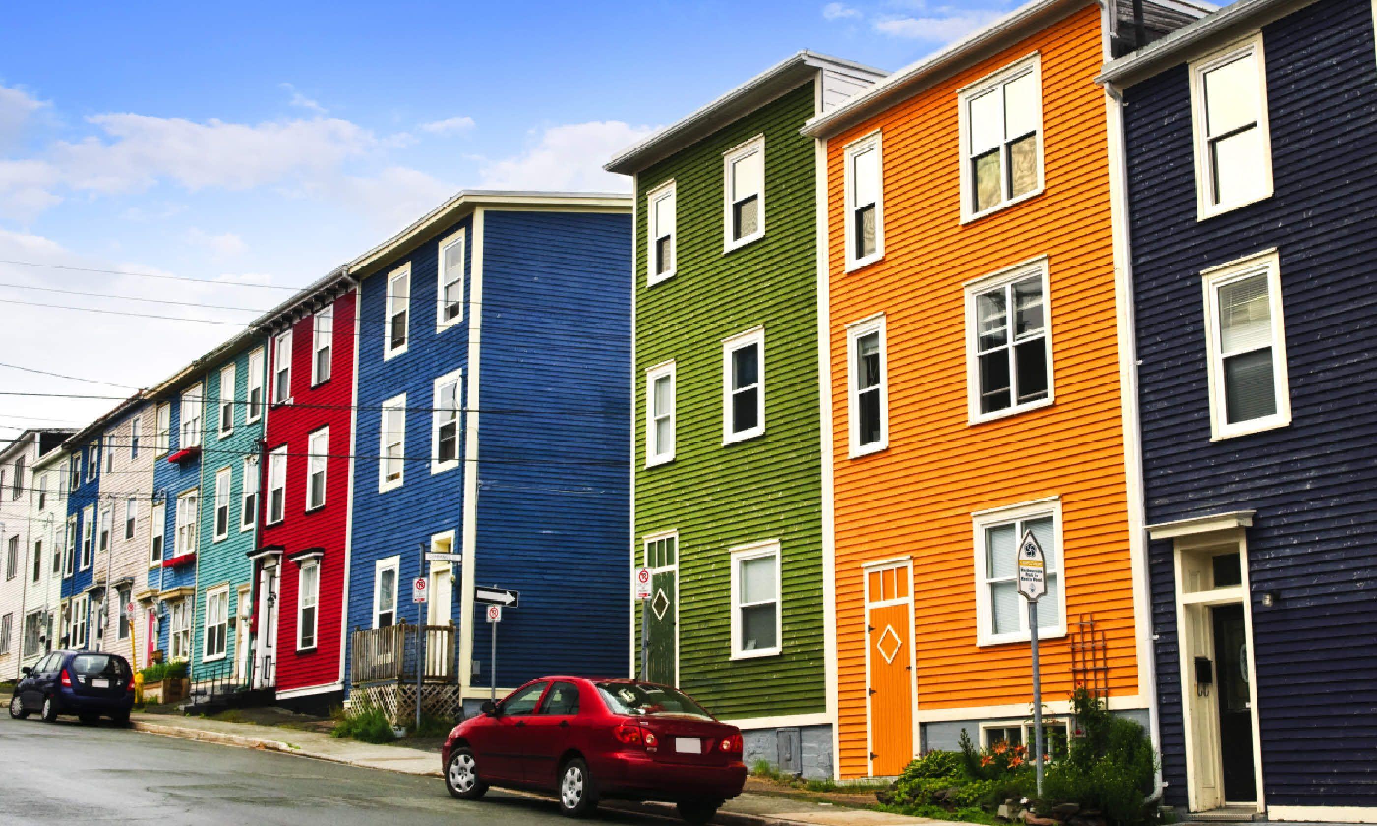 Street in St. John's, Canada (Shutterstock)