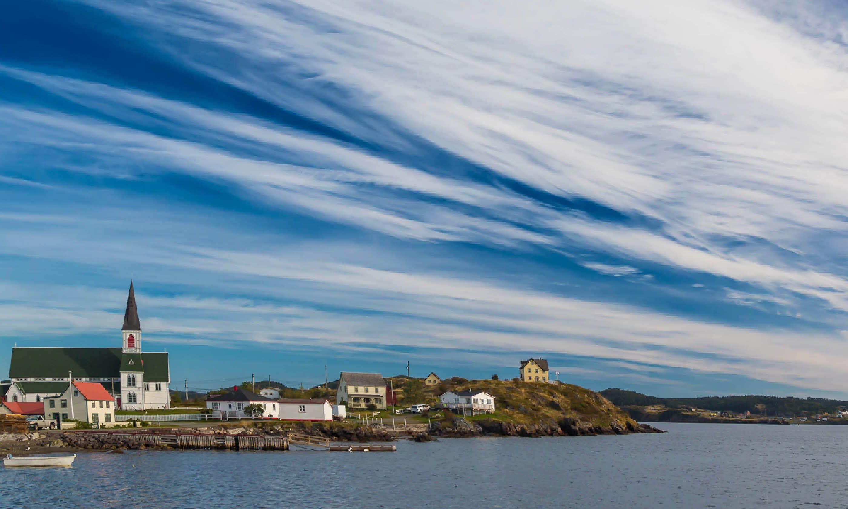 Coastline along the Bonavista Peninsula (Shutterstock)
