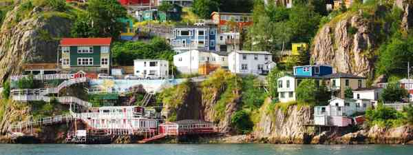 Harbour front villiage in St. John's, Canada (Shutterstock)