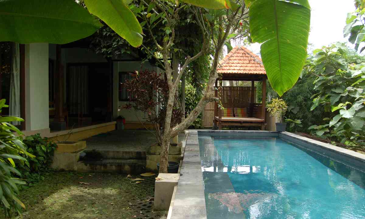 Pool at private resort, Ubud (Brian Thacker)