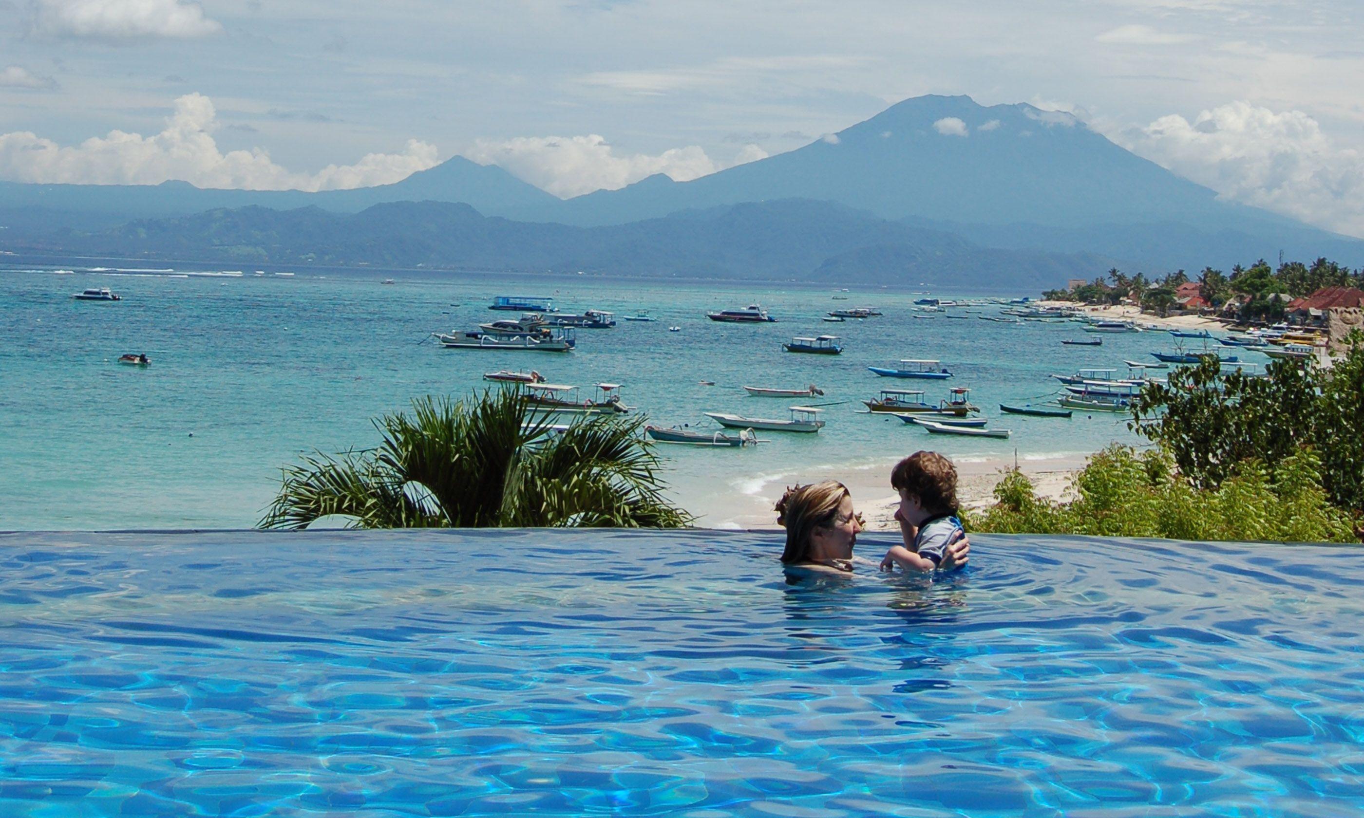 Resort pool in Bali (Brian Thacker)