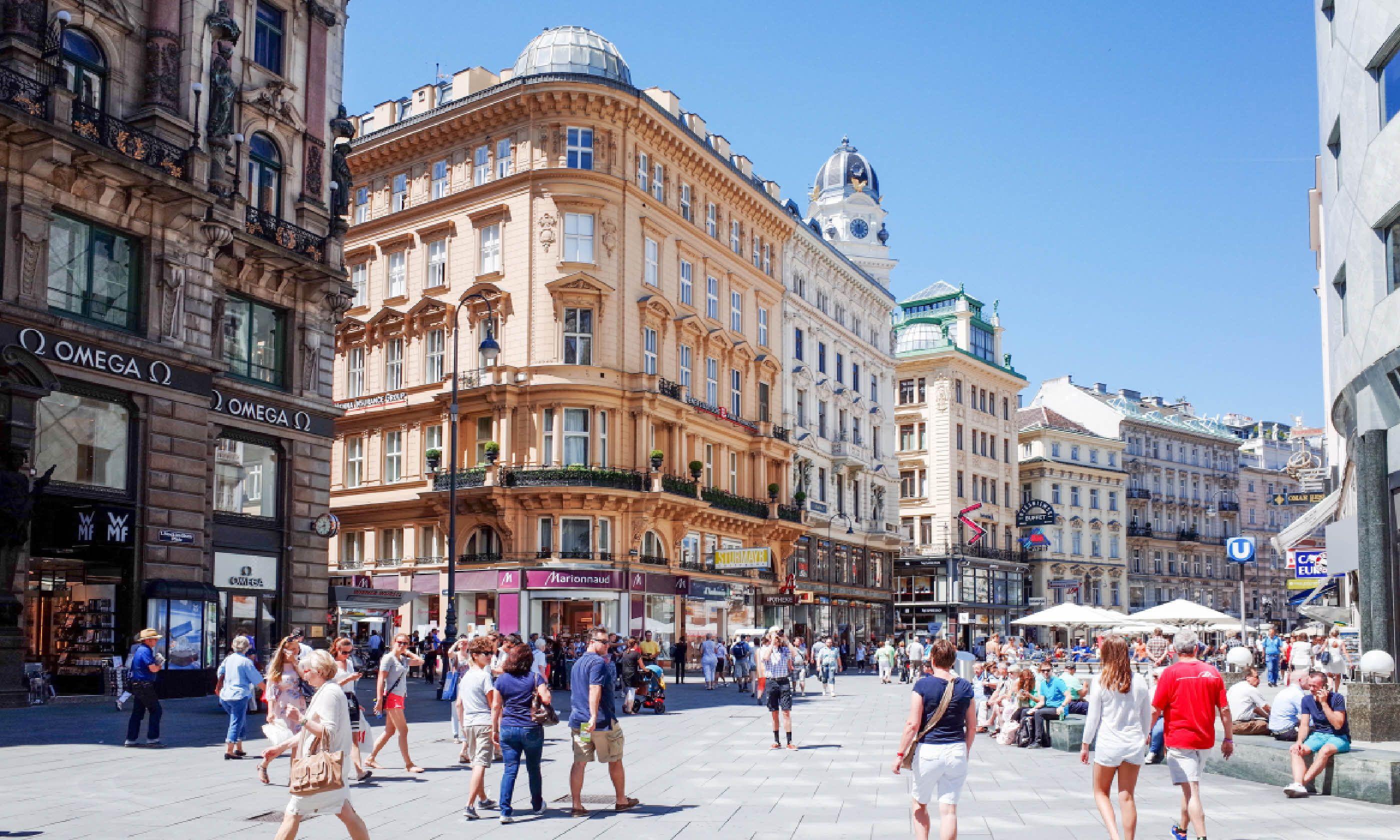 Graben Street in Vienna (Shutterstock)