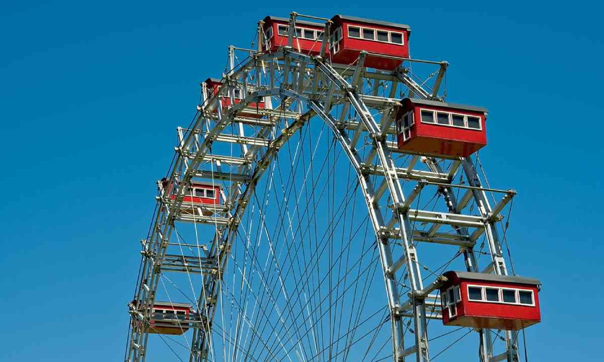 The ferris wheel of Prater, Vienna (Dreamstime)