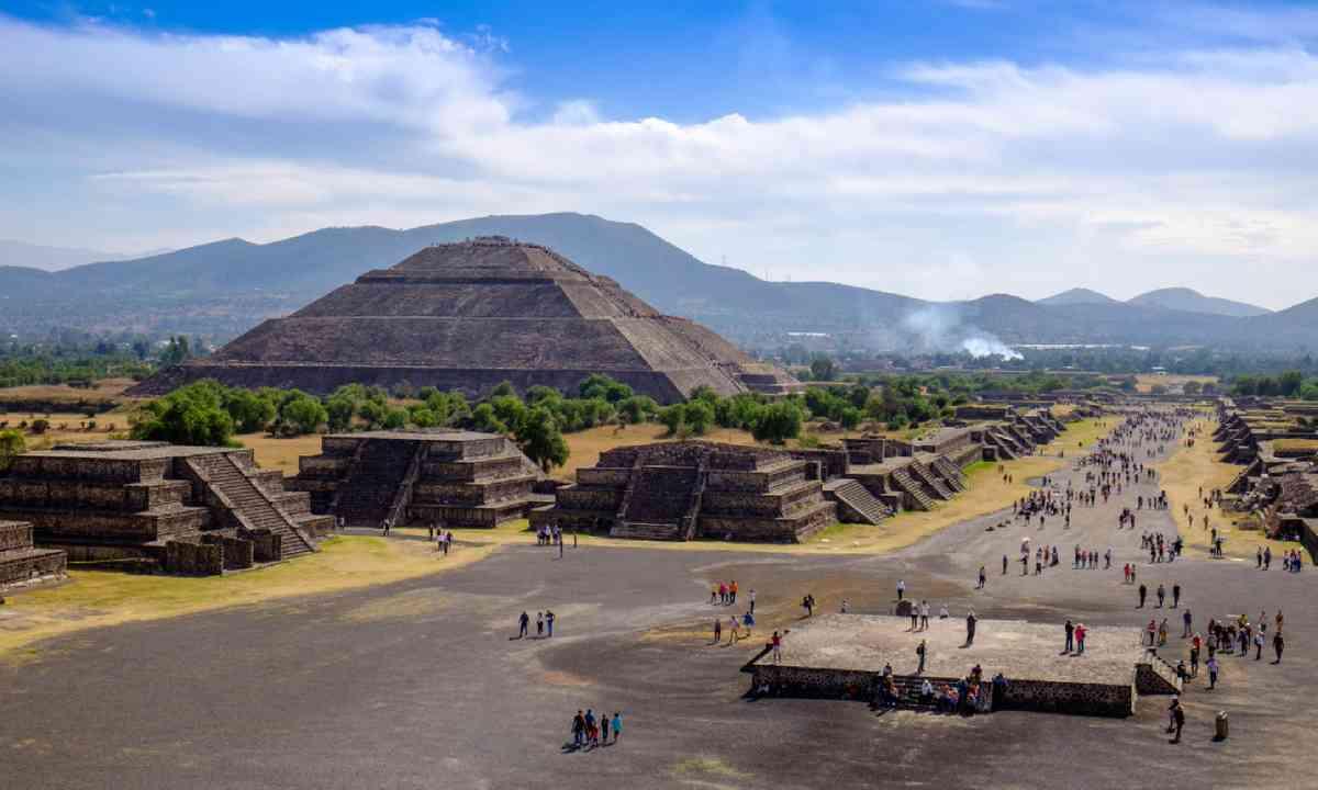 Pyramid of the Sun, Teotihuacan (Shutterstock)