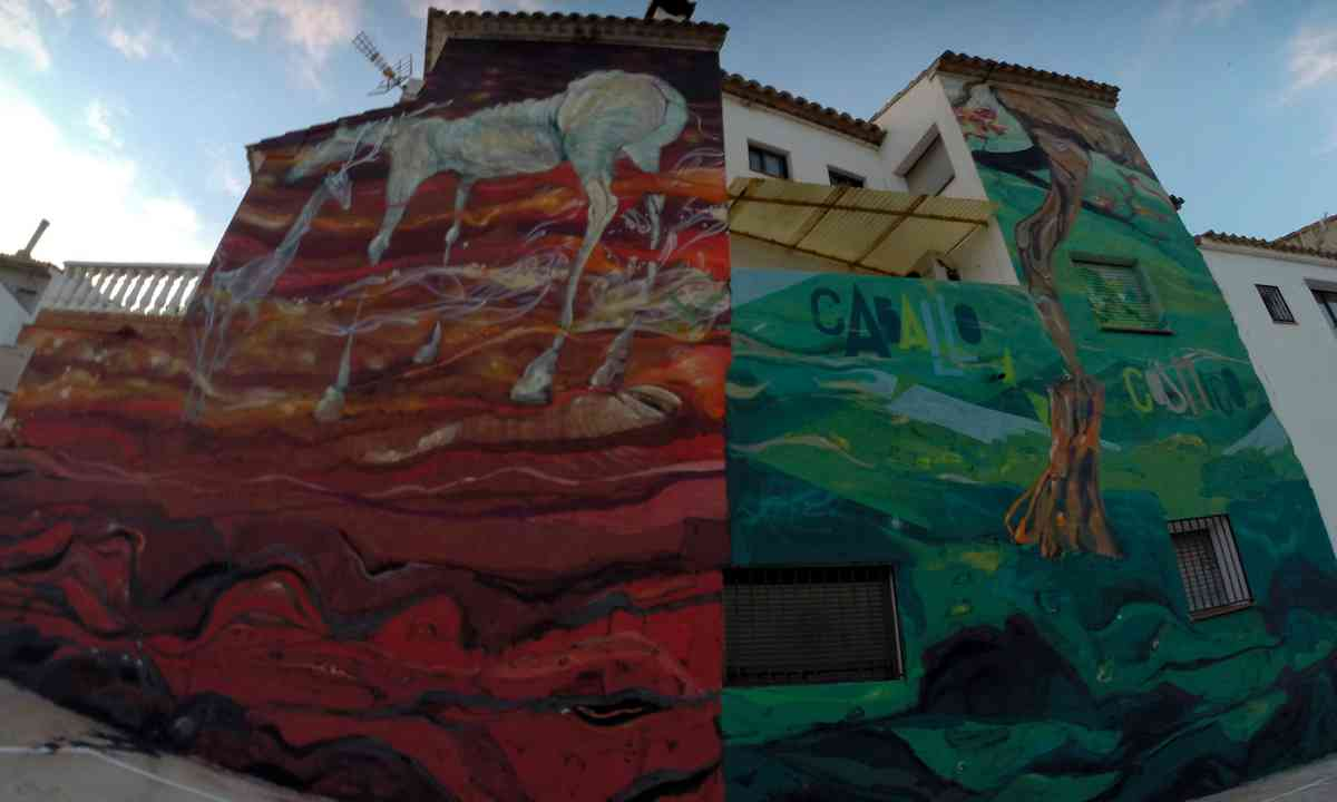 Mural in Fanzara, Spain (Rafa Gasco)