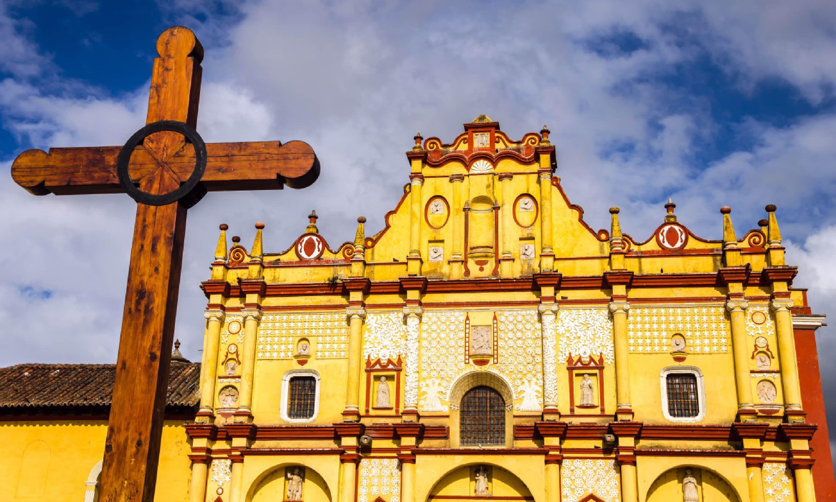 Cathedral, Cristóbal de las Casas (Shutterstock)