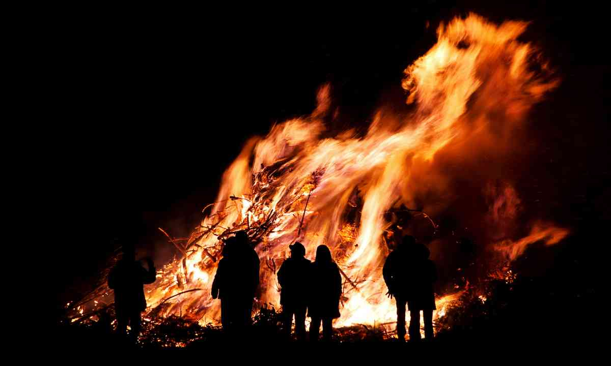 Walpurgis Night bonfire (Shutterstock.com)