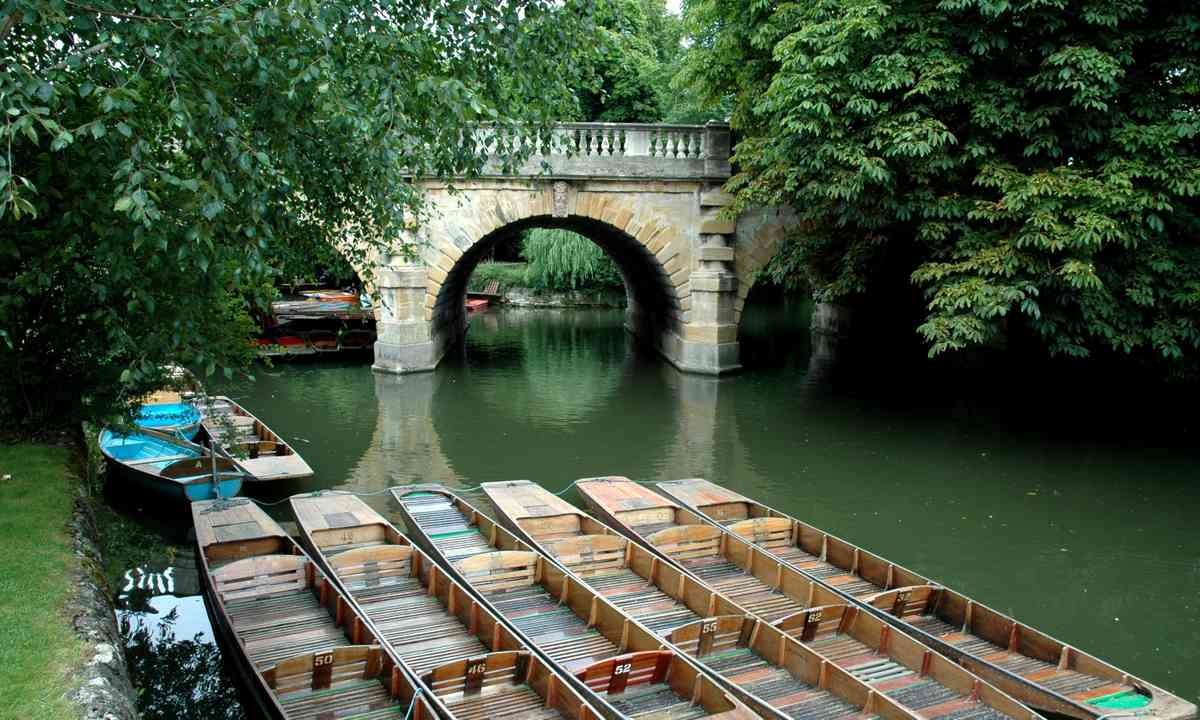 Magdalen Bridge, Oxford (Shutterstock.com)