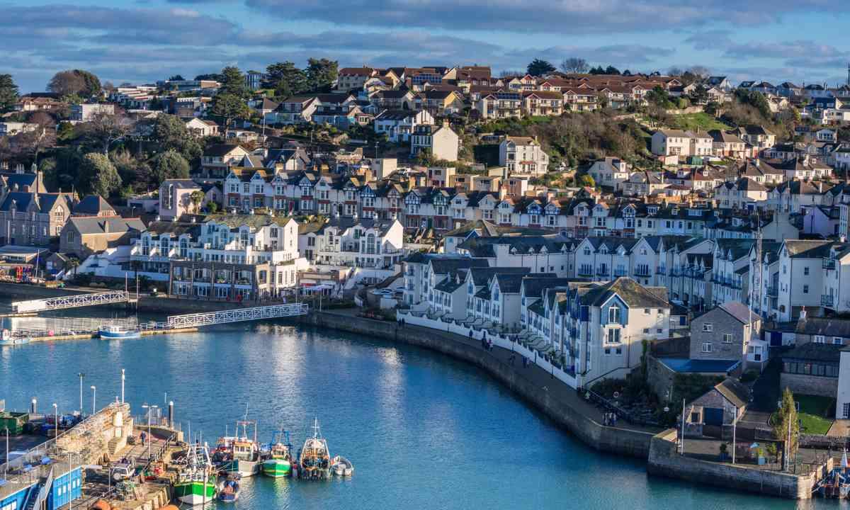 Brixham in Devon (Shutterstock.com)