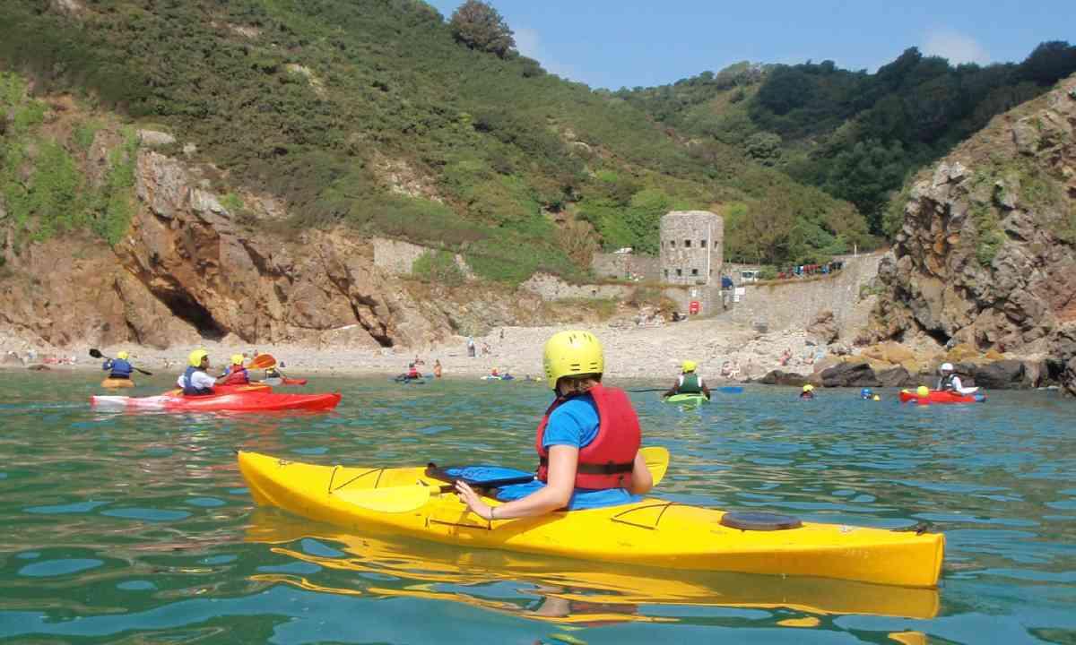 Commando Kayak Tour (Visit Guernsey)