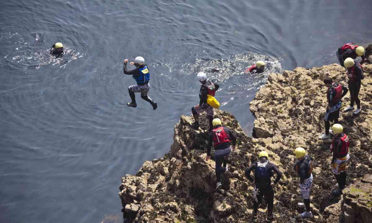 Coasteering (Visit Guernsey)