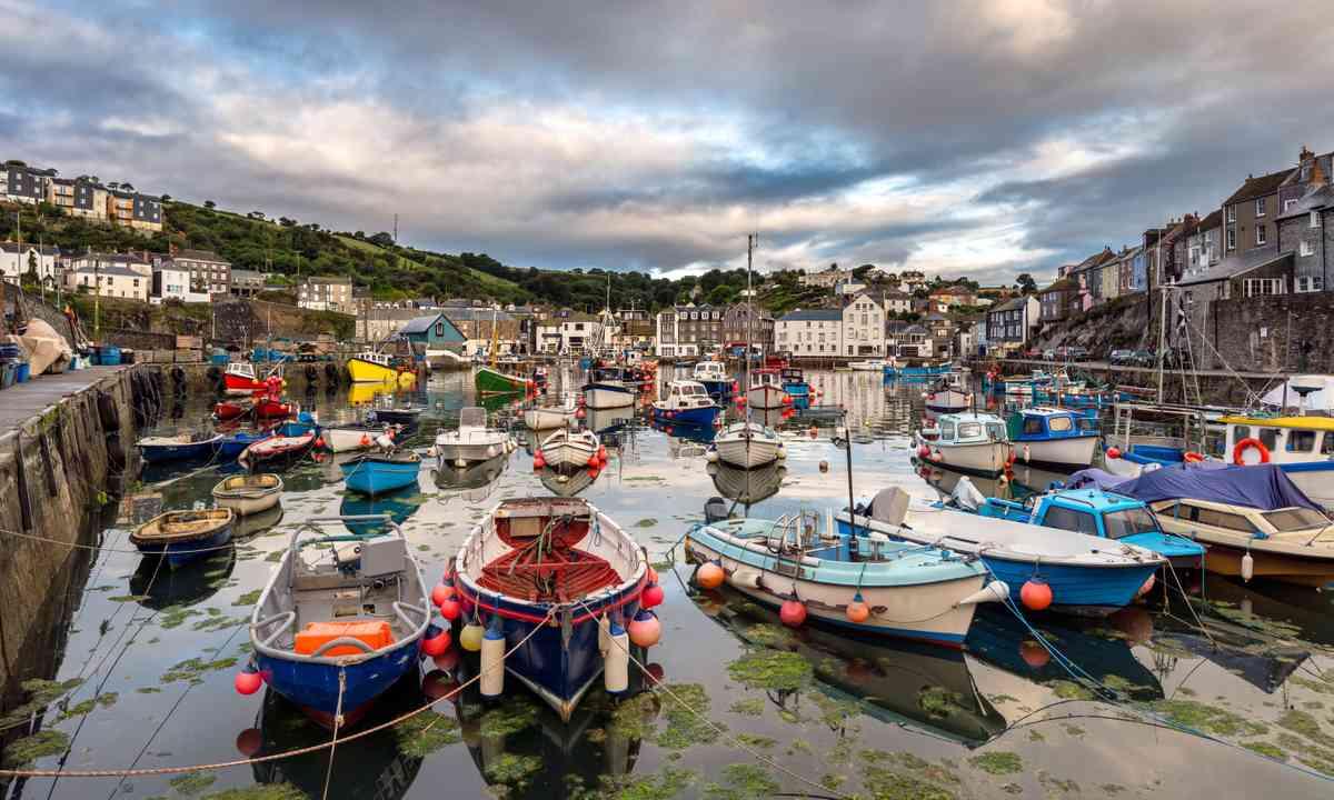 Mevagissey Cornwall (Shutterstock.com)