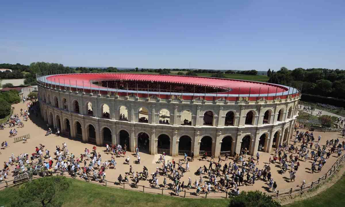 The arena at Poy du Foy (Poy du Foy)