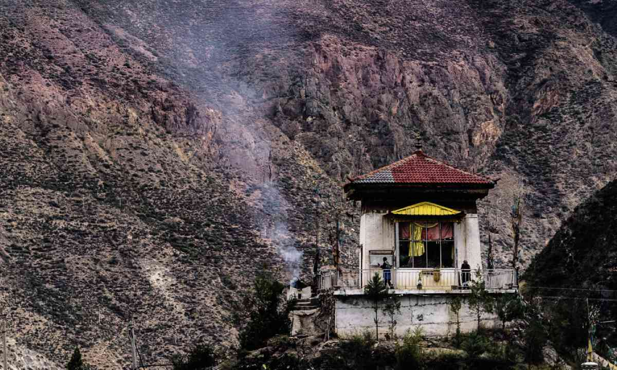 View from White Chick Temple, Shangri-La (David Abram)