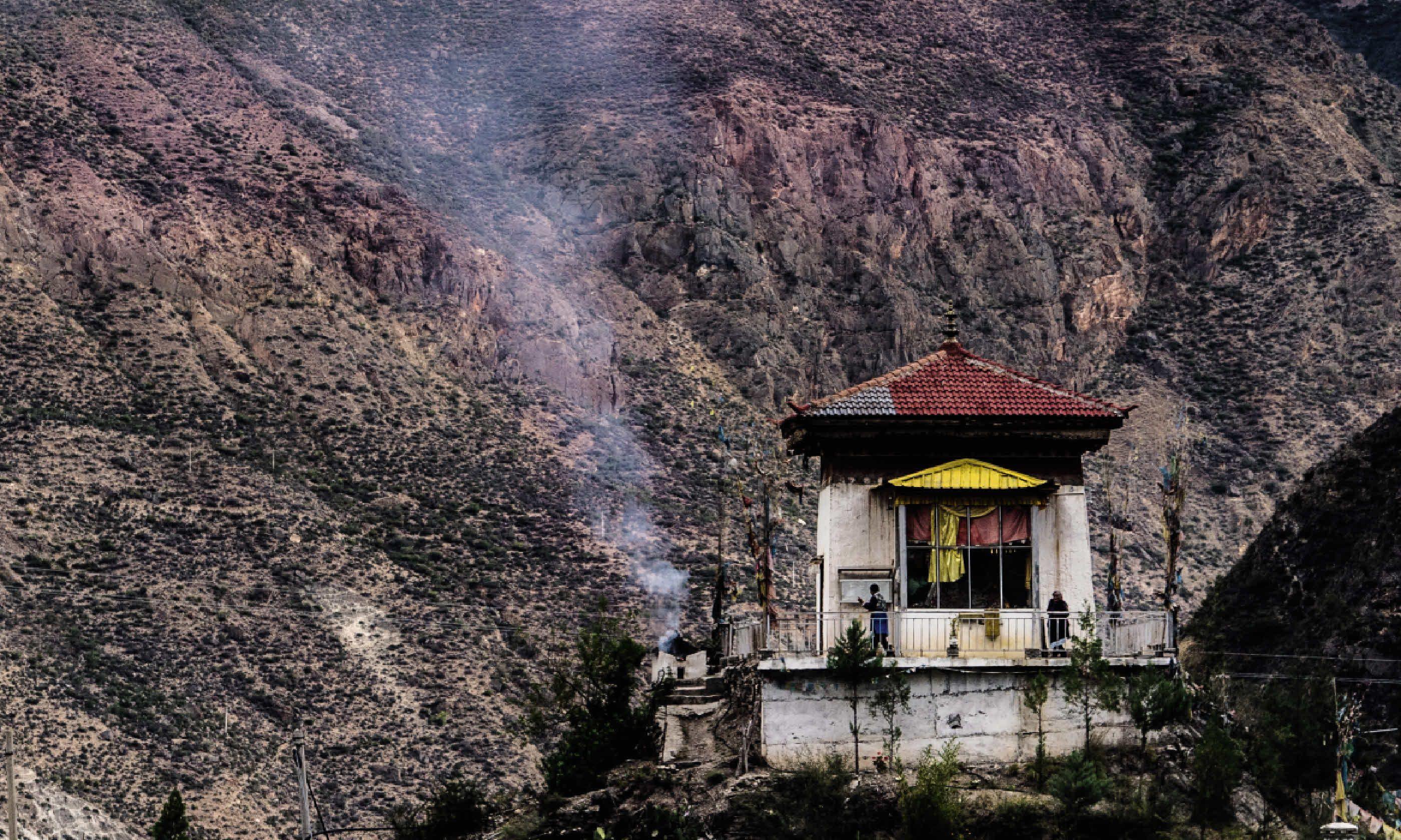 View from White Chick Temple, Shangri-La (David Abram)
