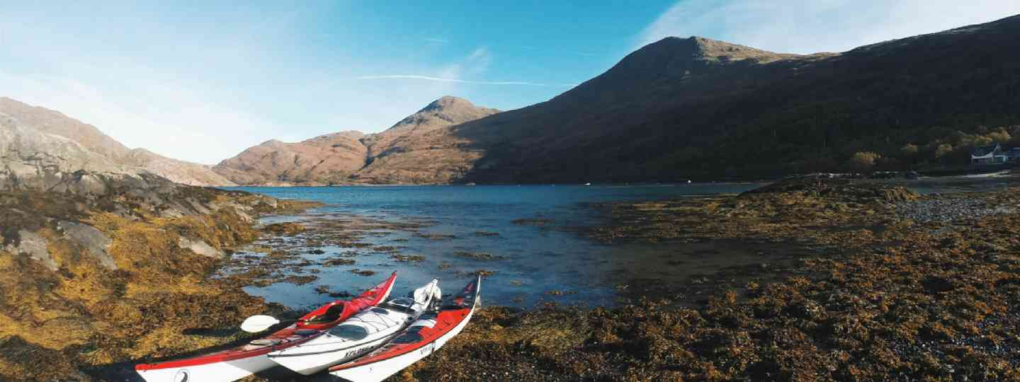 Kayaking on Scotland's west coast (Emma Higgins)