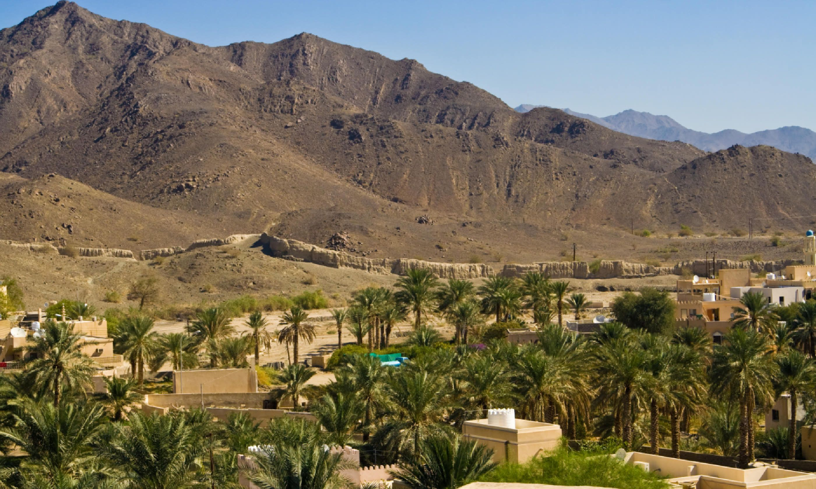 Town of Bahla in the foothills of the Western Hajar (Shutterstock)