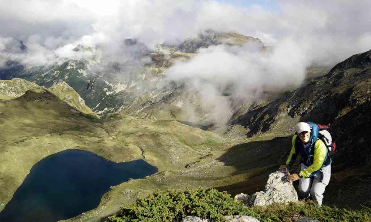 View from the top of Malyovitsa Ridge (Martin Symington)