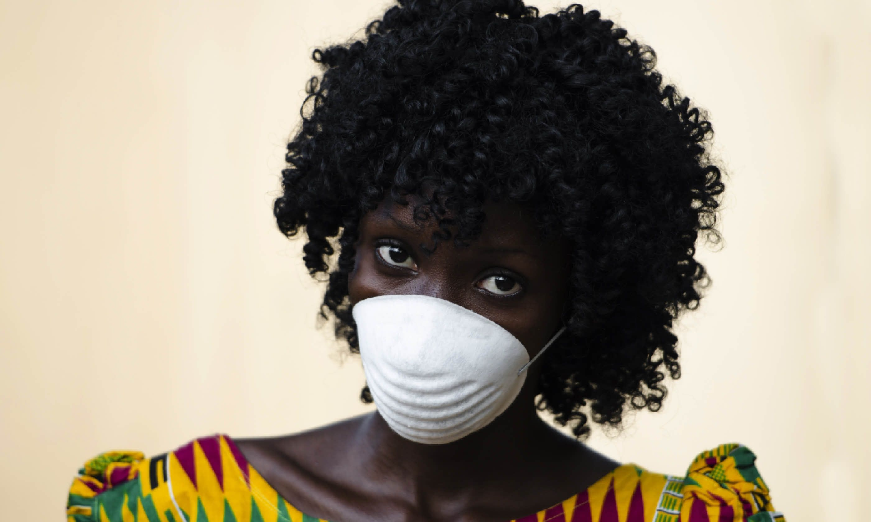 A doctor protects herself from ebola during the outbreak (Shutterstock)