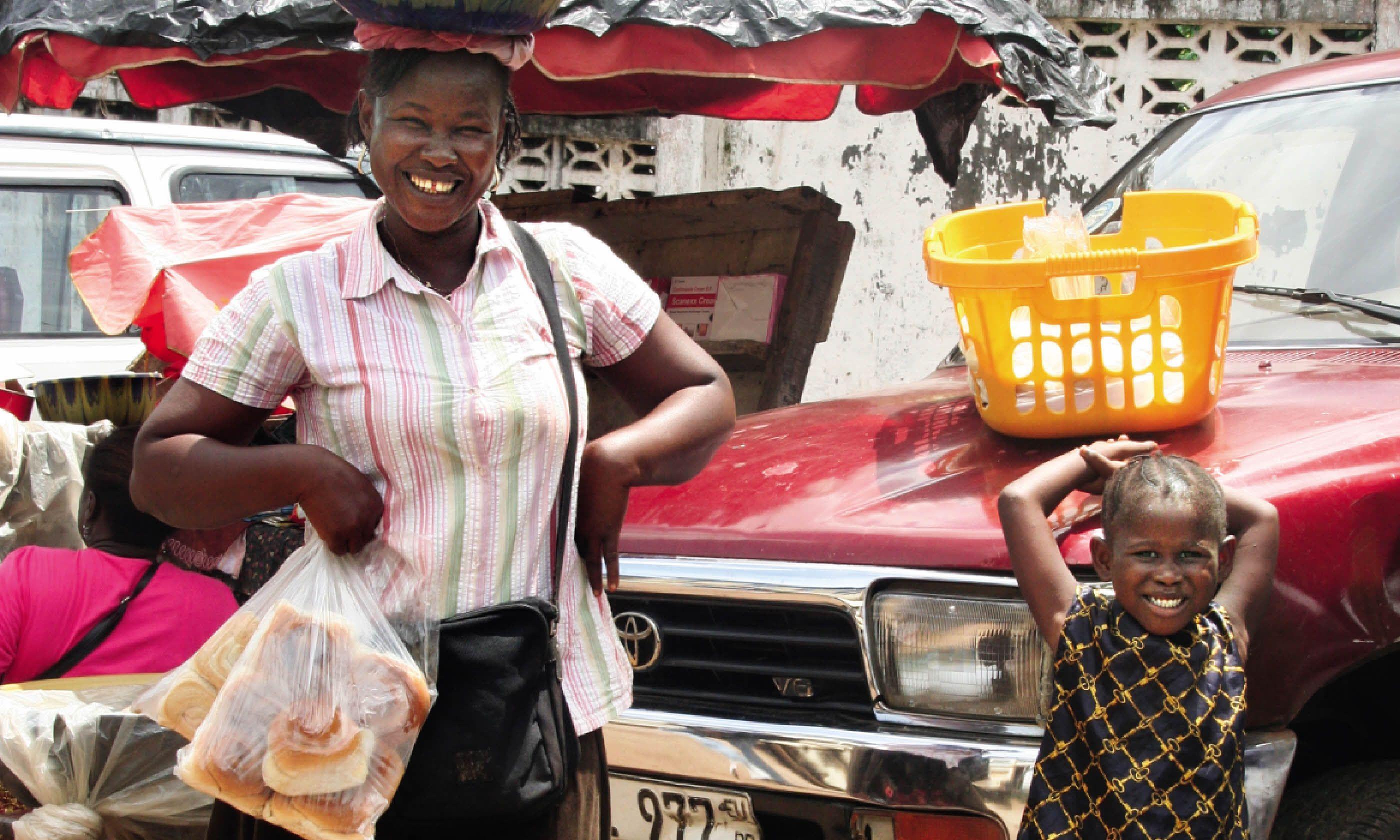 The spirit of enterprise is getting back on its feet in Freetown (Nick Redmayne)