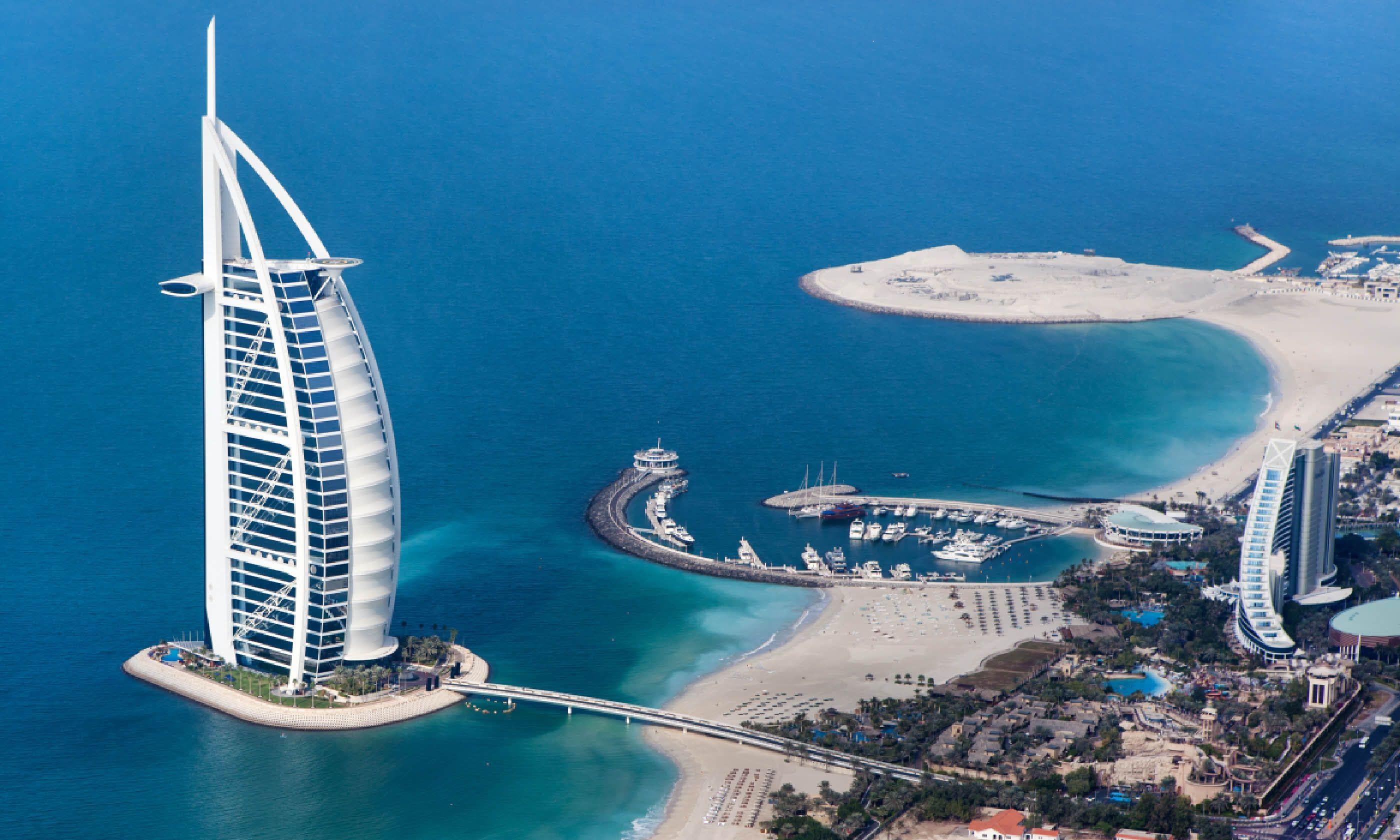The iconic Burj Al Arab hotel in Dubai (Shutterstock)