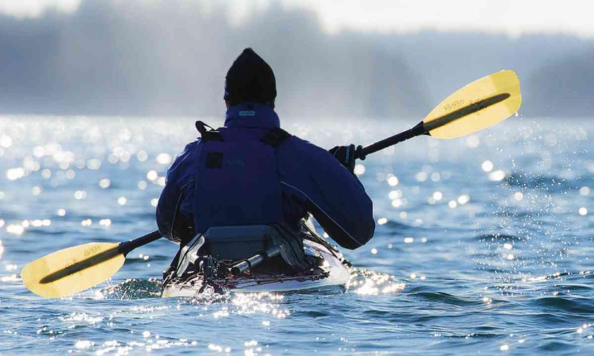 Kayaking in the Johnstone Strait (Ken Spence)