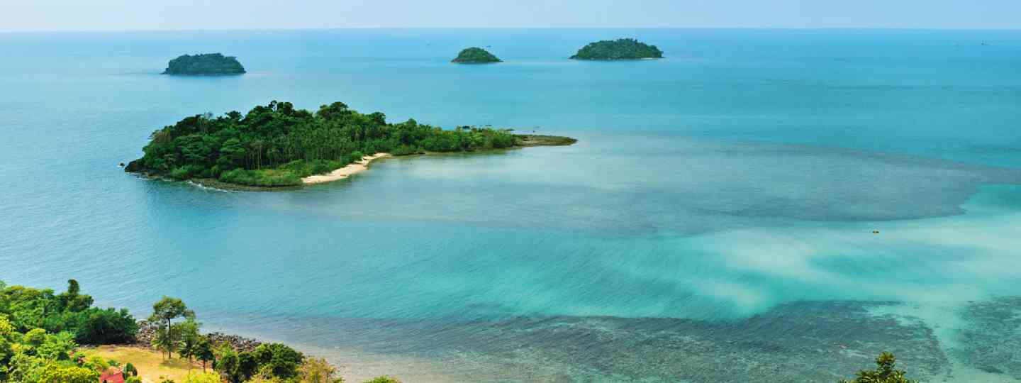 The beaches of Koh Chang (Dreamstime)