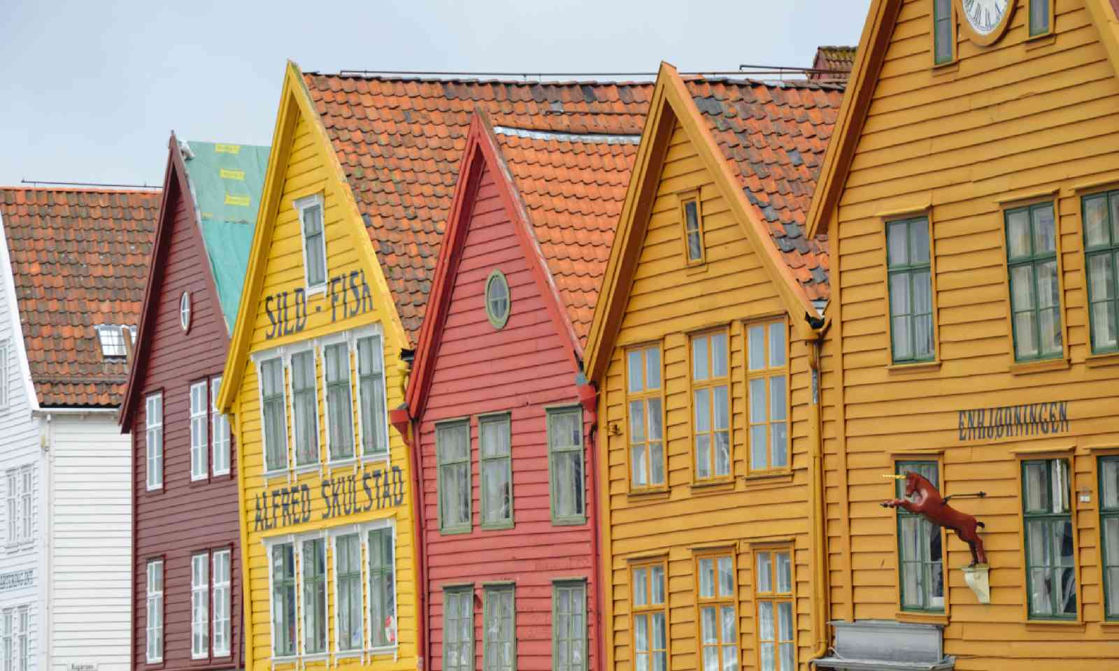 The UNESCO-listed Bryggen (Neil S Price)