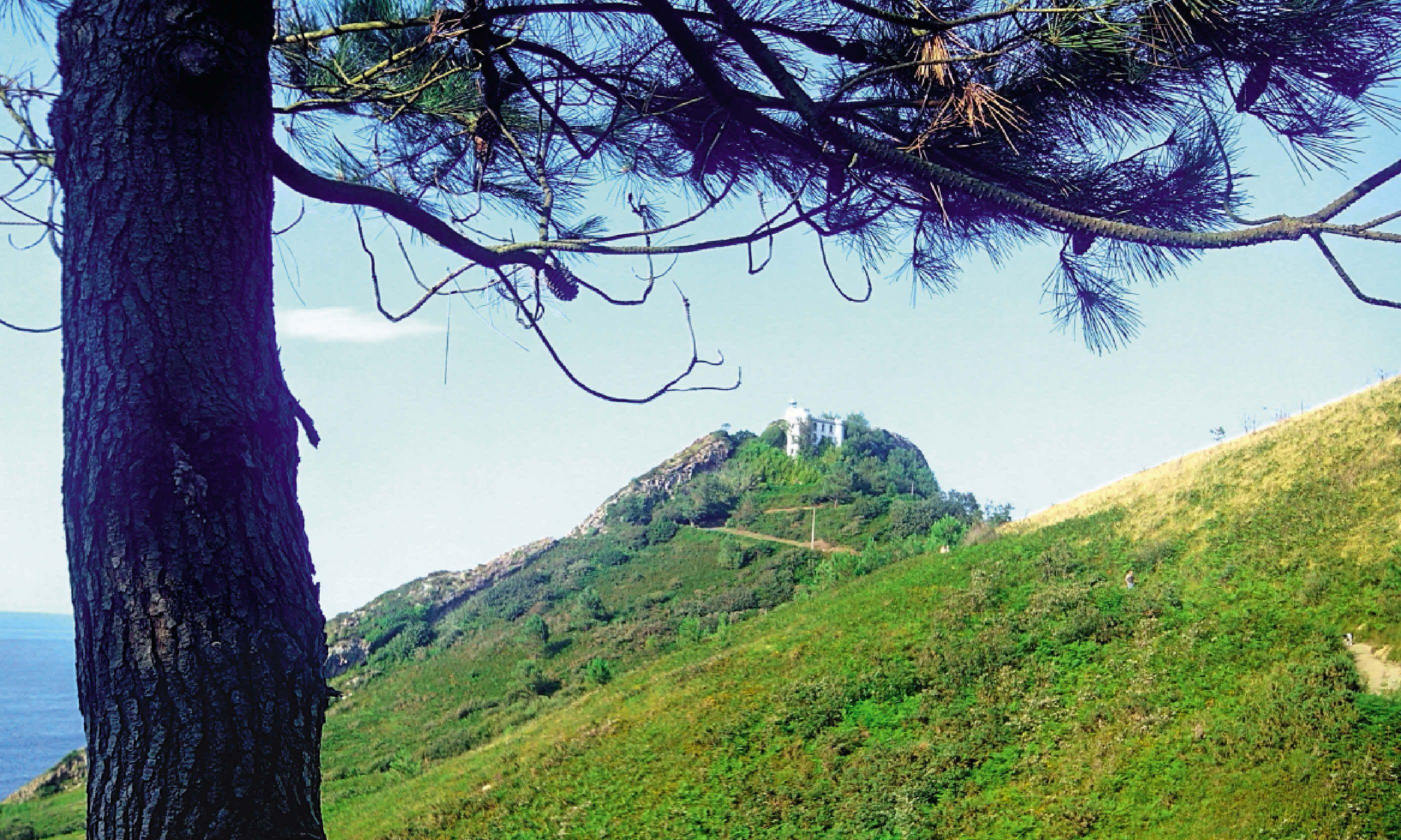 A beautiful hiking route in San Sebastian, Spain (Dreamstime)