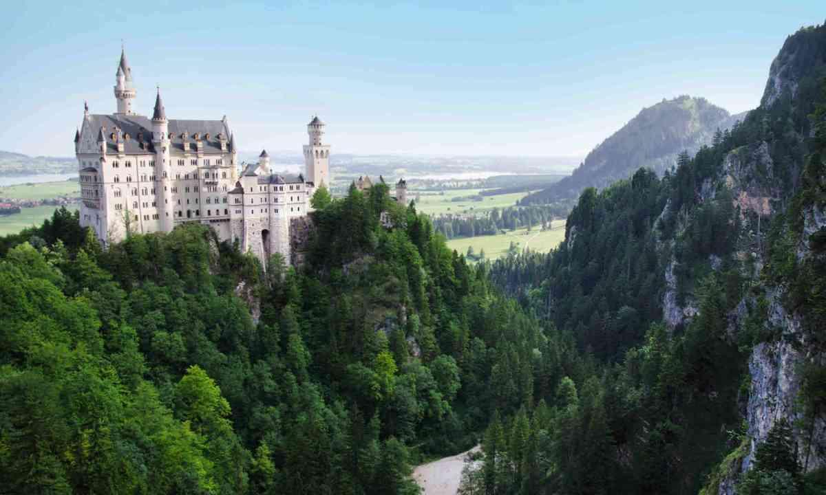 Neuschwanstein Castle that inspired Disney's Sleeping Beauty Castle (Neil S Price)