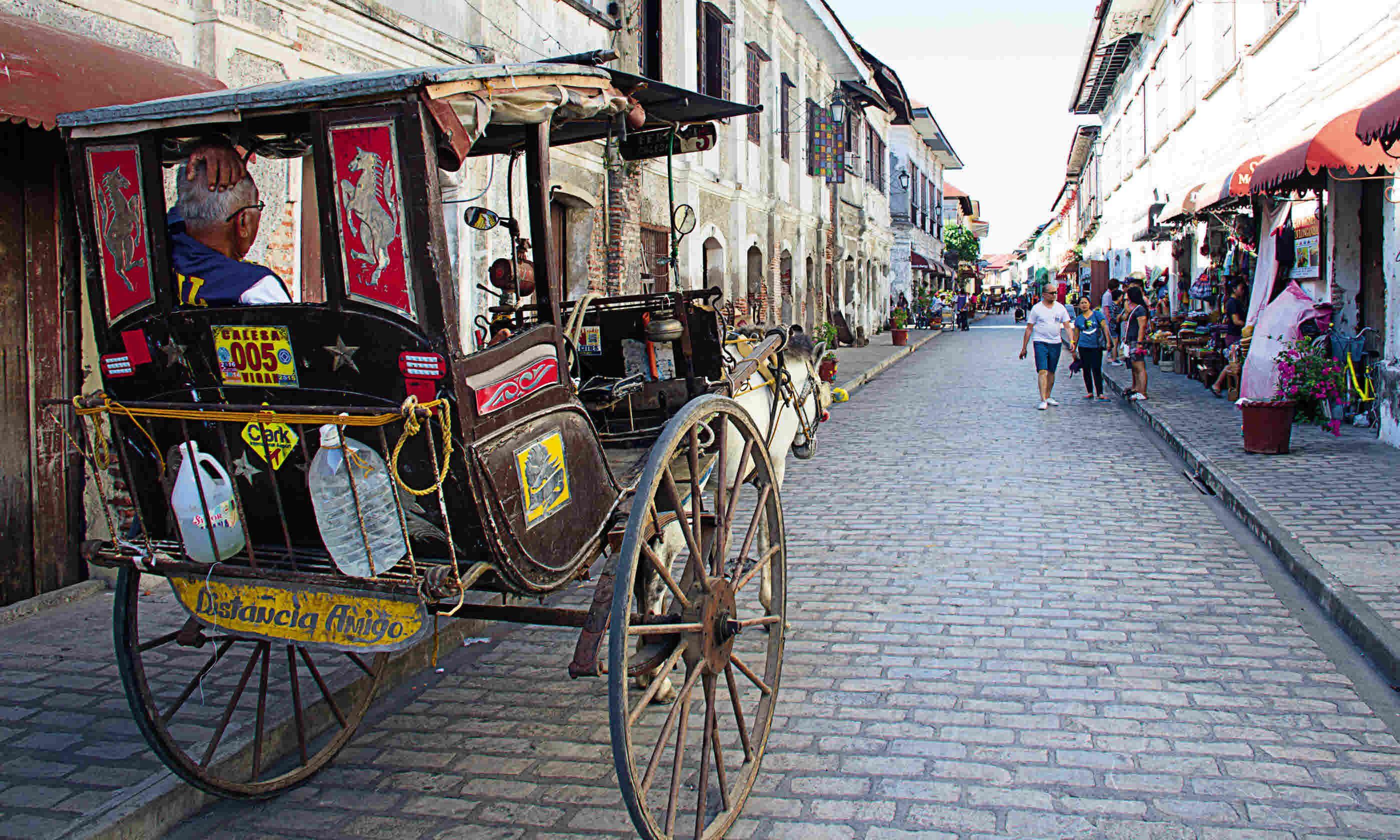 A horse and cart ride through Vigan (Nick Boulos)