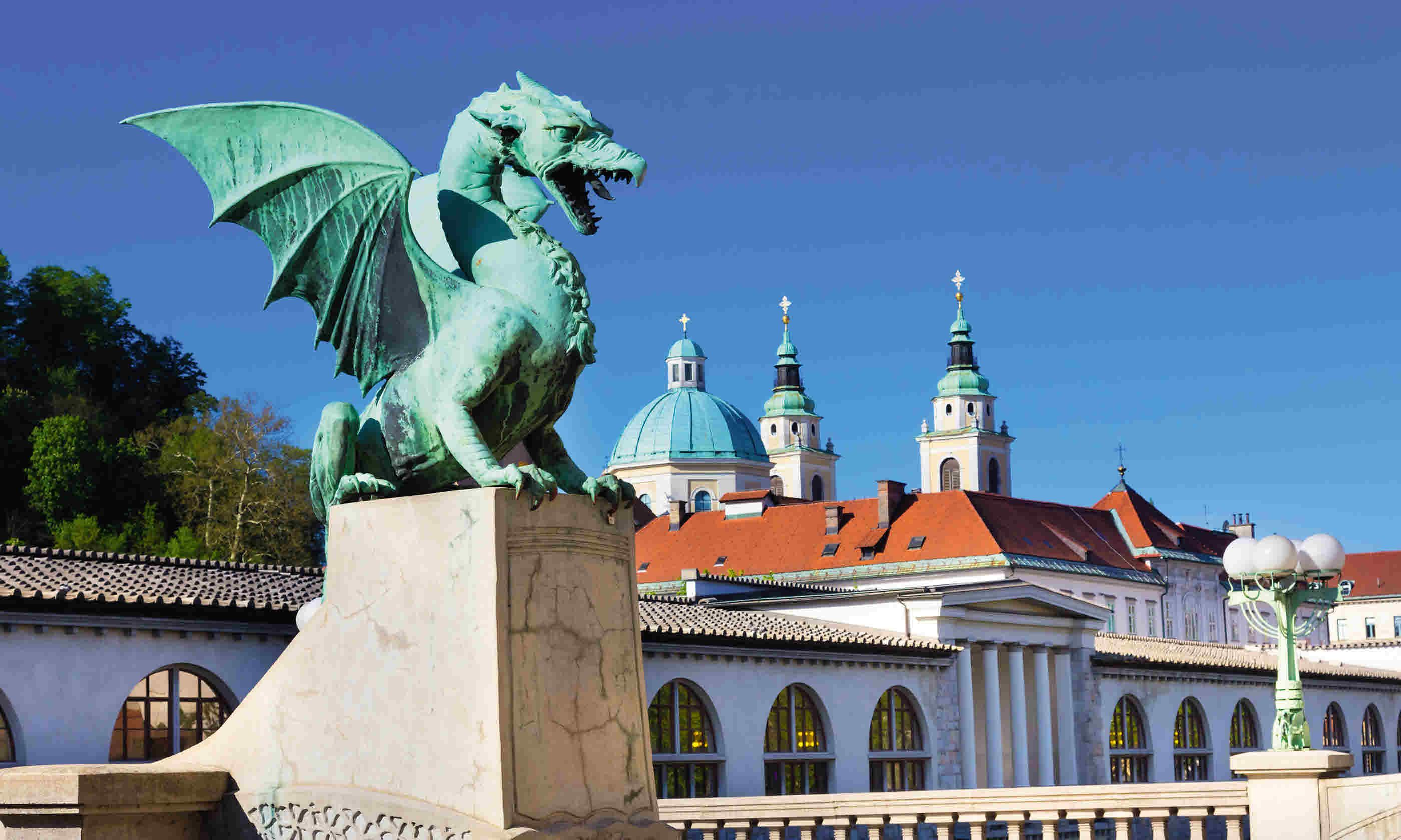 Dragon Bridge, Ljubljana (Dreamstime)