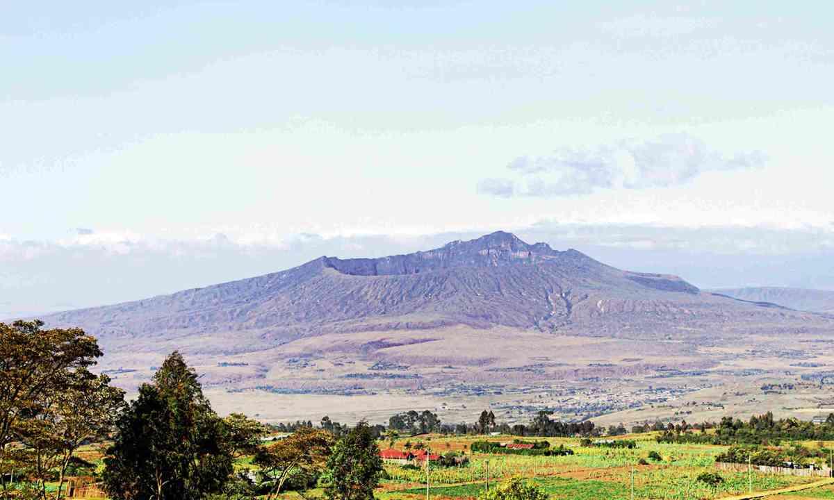 Mount Longonot (Dreamstime)