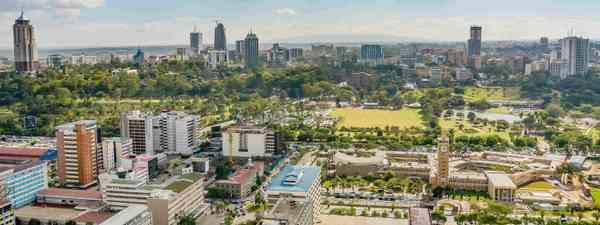 Nairobi, Kenya (Shutterstock)